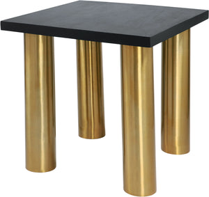 Meridian Furniture Piper Brushed Gold End Table