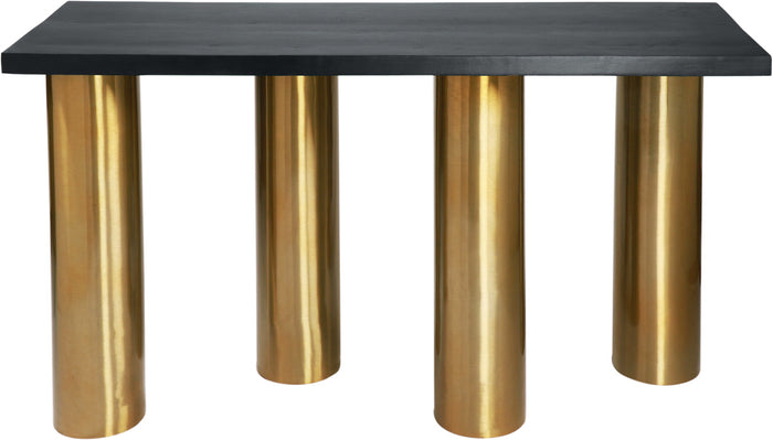 Meridian Furniture Piper Brushed Gold Console TableMeridian Furniture - Console Table - Minimal And Modern - 1