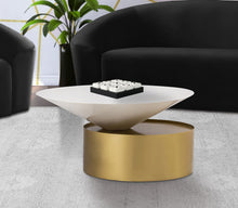 Meridian Furniture Damon White Coffee Table
