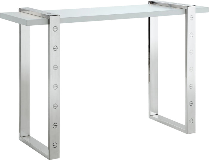 Meridian Furniture Amore Chrome Console TableMeridian Furniture - Console Table - Minimal And Modern - 1