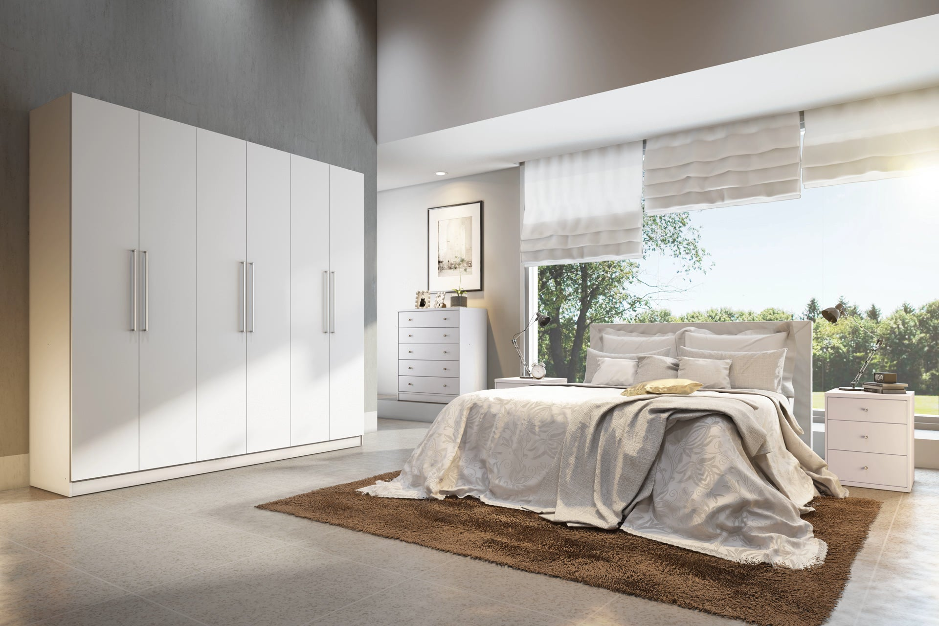 armoire at chelsea wide doors wardrobe in cfm master sliding wardrobes armoires product comfort manhattan hayneedle drawers with comforter and