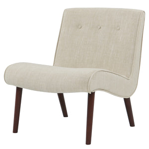Alexis Fabric Slipper Chair by New Pacific Direct - 353031