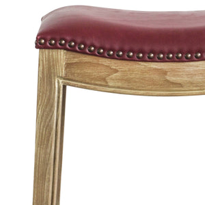 Elmo Bonded Leather Counter Stool by New Pacific Direct - 358625B