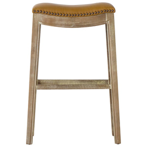 Elmo Bonded Leather Bar Stool by New Pacific Direct - 358631B