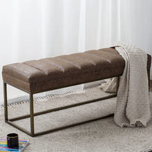 Darius PU Leather Bench by New Pacific Direct - 3900030