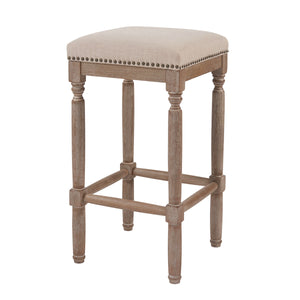 Ernie Fabric Counter Stool - Set of 2 by New Pacific Direct - 3900052-392