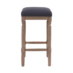 Ernie Fabric Counter Stool - Set of 2 by New Pacific Direct - 3900052-393
