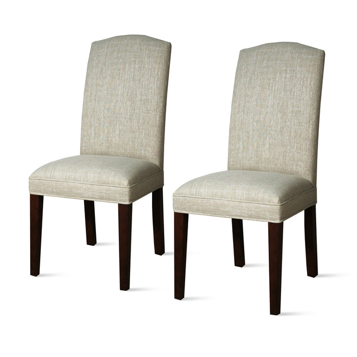 Anabelle Fabric Side Chair - Set of 2 by New Pacific Direct - 398240