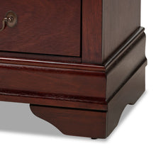 Baxton Studio Beale Classic and Contemporary Espresso Brown Finished 3-Drawer Nightstand Baxton Studio-nightstands-Minimal And Modern - 8
