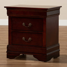 Baxton Studio Beale Classic and Contemporary Espresso Brown Finished 3-Drawer Nightstand Baxton Studio-nightstands-Minimal And Modern - 10