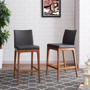 Devon Counter Stool - Set of 2 by New Pacific Direct - 4400011