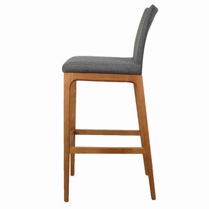 Devon Fabric Bar Stool - Set of 2 by New Pacific Direct - 4400012-NS