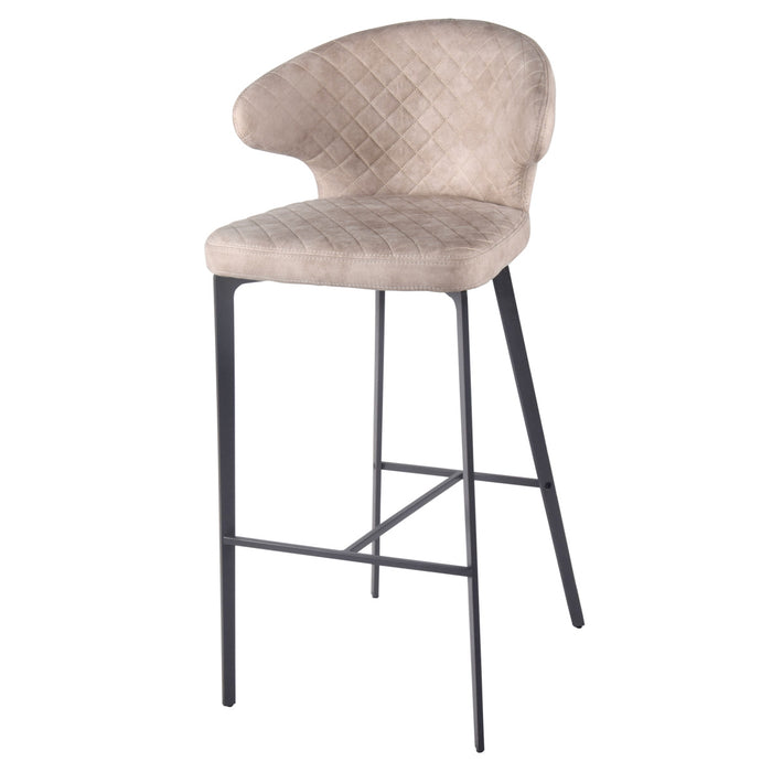 Bradley Fabric Bar Stool by New Pacific Direct - 4400049