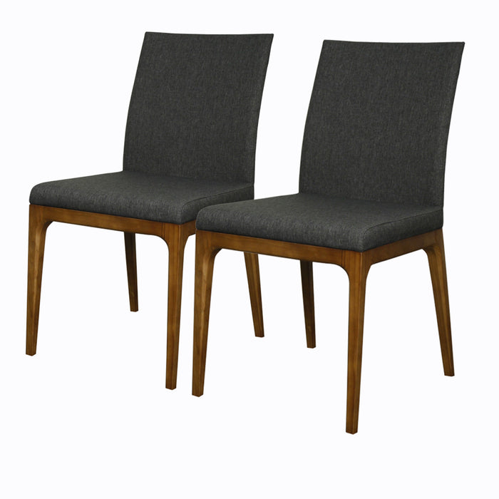 Devon Fabric Chair - Set of 2 by New Pacific Direct - 448237