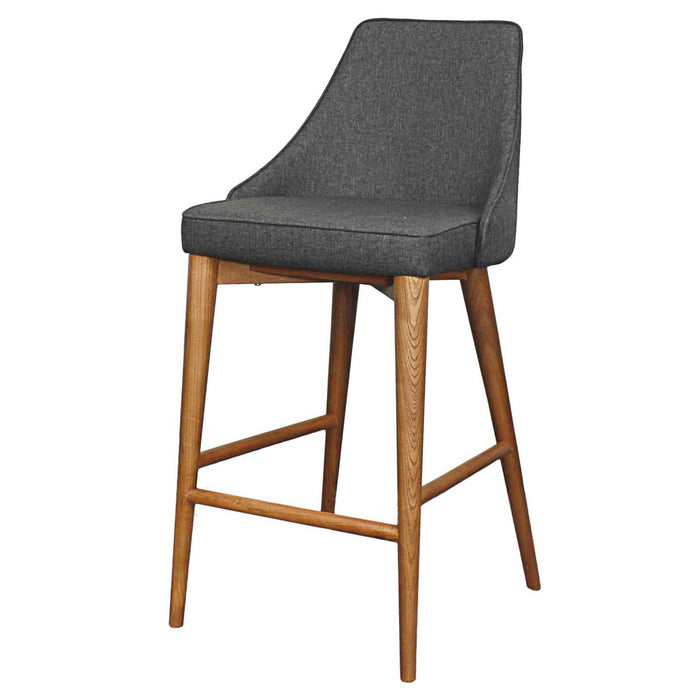 Erin Fabric Counter Stool by New Pacific Direct - 448628
