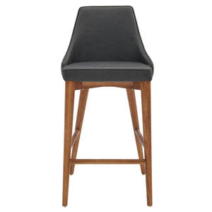 Erin PU Leather Bar Stool by New Pacific Direct - 448631P-758-W