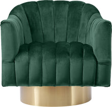 Meridian Furniture Farrah Green Velvet Accent Chair