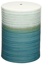 Swirl Ceramic Garden Stool by New Pacific Direct - 529714