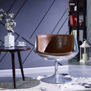 Conan Swivel Chair by New Pacific Direct - 6300002