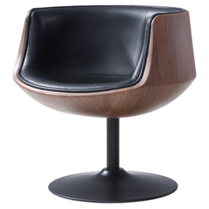 Conan PU Leather Swivel Chair by New Pacific Direct - 6300039