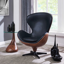 Nero PU Leather Swivel Chair by New Pacific Direct - 6300049