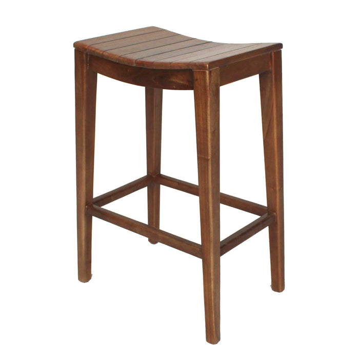 Elmo Wooden Bar Stool by New Pacific Direct - 6600011