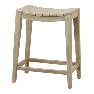 Elmo Wooden Counter Stool by New Pacific Direct - 6600012-WG