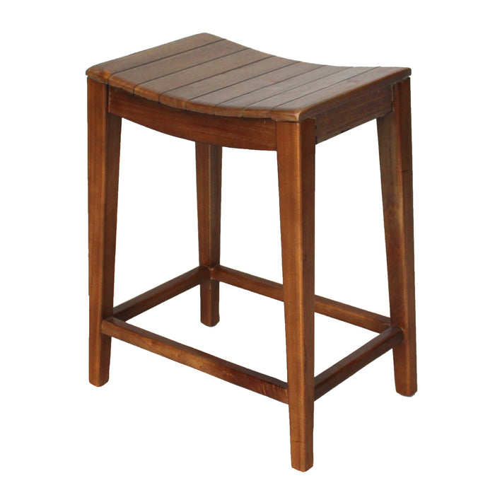 Elmo Wooden Counter Stool by New Pacific Direct - 6600012