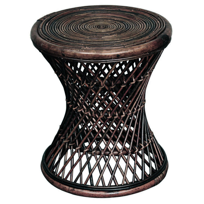 Keala Rattan Round Stool by New Pacific Direct - 668818