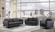 Meridian Furniture Poppy Grey Velvet Sofa