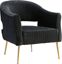 Meridian Furniture Monroe Black Velvet ChairMeridian Furniture - Chair - Minimal And Modern - 1
