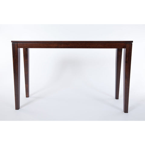 Bamboogle Brazil Collection Modern Bamboo Console Table in Java Espresso Finish 10-1448J