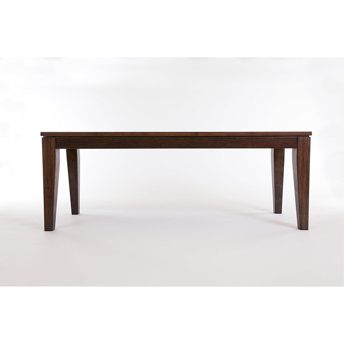 Bamboogle Brazil Entryway Bench in Java Finish 45-1648J-Minimal & Modern