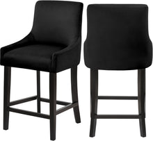 Meridian Furniture Demi Black Velvet StoolMeridian Furniture - Stool - Minimal And Modern - 1