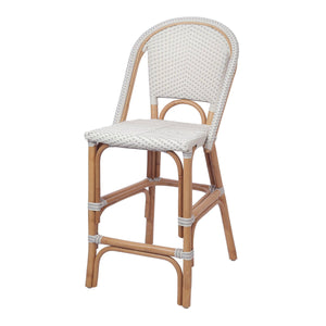 Avignon Paris Rattan Bistro Counter Stool by New Pacific Direct - 7400041