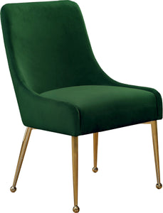 Meridian Furniture Owen Green Velvet Dining Chair - Set of 2