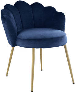 Meridian Furniture Claire Navy Velvet Dining Chair - Set of 2