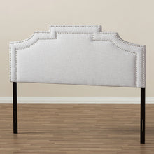 Baxton Studio Deena Modern and Contemporary Greyish Beige Fabric Full Size Headboard Baxton Studio-Headboards-Minimal And Modern - 5