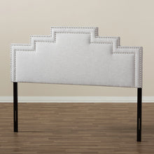 Baxton Studio Sophia Modern and Contemporary Greyish Beige Fabric Queen Size Headboard Baxton Studio-Headboards-Minimal And Modern - 5