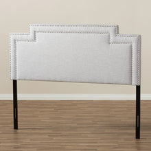 Baxton Studio Casey Modern and Contemporary Greyish Beige Fabric King Size Headboard Baxton Studio-Headboards-Minimal And Modern - 5