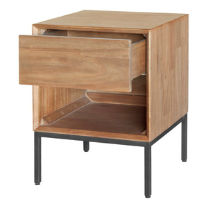 Hathaway 1-Drawer Night Stand by New Pacific Direct - 8000047