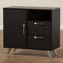 Baxton Studio Warwick Modern and Contemporary Espresso Brown Finished Wood Sideboard Baxton Studio-0-Minimal And Modern - 6