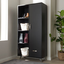 Baxton Studio Warwick Modern and Contemporary Espresso Brown Finished Wood Bookcase Baxton Studio-0-Minimal And Modern - 9