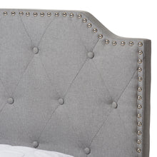Baxton Studio Aubrianne Modern and Contemporary Grey Fabric Upholstered Queen Storage Bed Baxton Studio-beds-Minimal And Modern - 10
