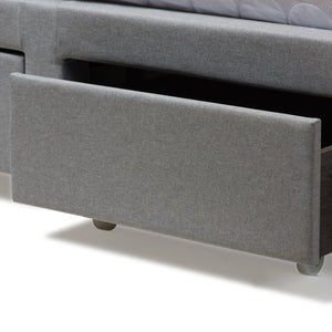 Baxton Studio Aubrianne Modern and Contemporary Grey Fabric Upholstered Queen Storage Bed Baxton Studio-beds-Minimal And Modern - 11