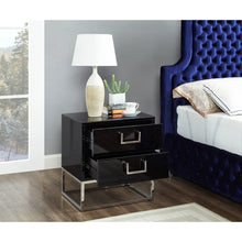 Meridian Furniture Nova Black Side Table-Minimal & Modern