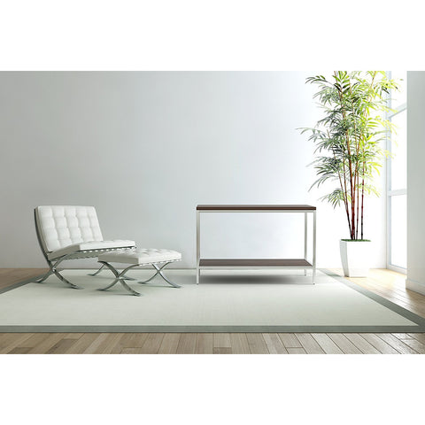 Bamboogle Dark Grey Console Table With Silver Legs BKL-10-S-4414-G