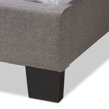 Baxton Studio Odette Modern and Contemporary Light Grey Fabric Upholstered King Size Bed Baxton Studio-0-Minimal And Modern - 6