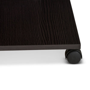 Baxton Studio Cladine Modern and Contemporary Wenge Brown Finished Coffee Table Baxton Studio-coffee tables-Minimal And Modern - 3