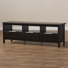 Baxton Studio Elaine Modern and Contemporary Wenge Brown Finished TV Stand Baxton Studio-TV Stands-Minimal And Modern - 8